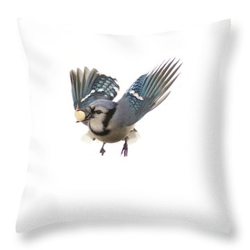Mid Air Throw Pillow