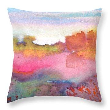 Midday 25 Throw Pillow by Miki De Goodaboom