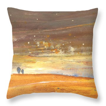 Midday 29 Throw Pillow by Miki De Goodaboom