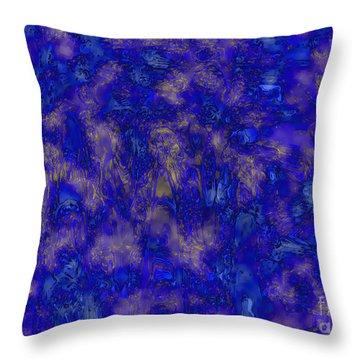 Midnight Magic Throw Pillow by Carol Groenen