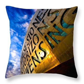 Millenium Throw Pillow