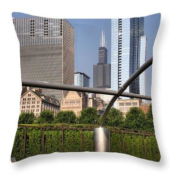 Millenium Park - 1 Throw Pillow
