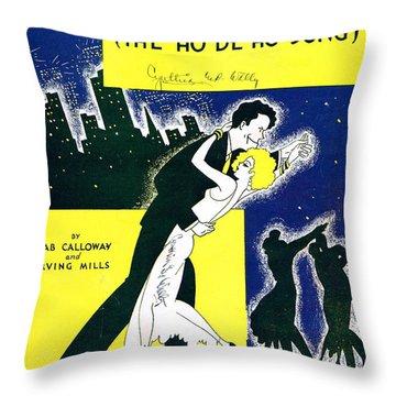 Minnie The Moocher Throw Pillow by Mel Thompson