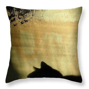 Mips Sur Borduas Throw Pillow