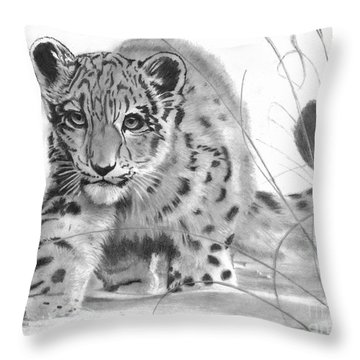 Mischief Throw Pillow