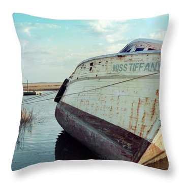 Miss Tiffany Throw Pillow