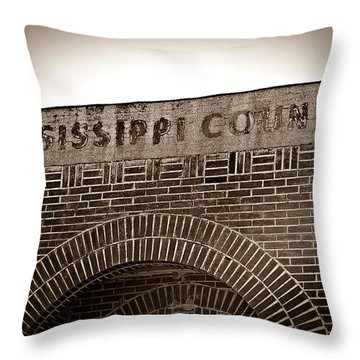 Missco High School In Arkansas Throw Pillow