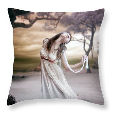Mistborn Throw Pillow by Mary Hood