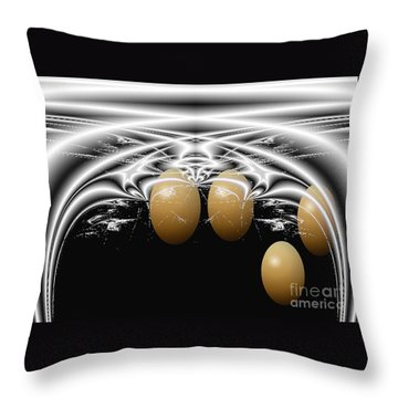 Birth Of Quadruplets, From The Serie Mystica Throw Pillow