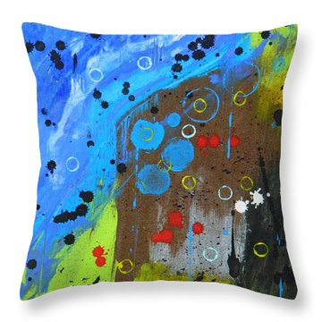 Mix It Up Throw Pillow by Everette McMahan jr