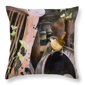 Mobile Home  Sold Prints Available Throw Pillow