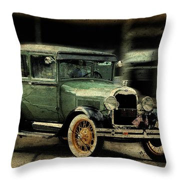 Throw Pillow featuring the photograph Model T by Janice Adomeit