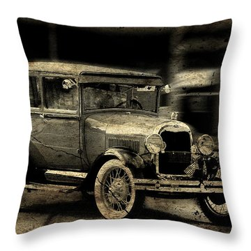 Throw Pillow featuring the photograph Model T No. 2 by Janice Adomeit