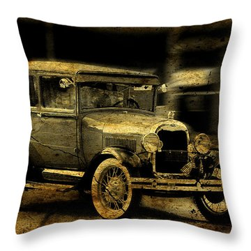 Throw Pillow featuring the photograph Model T No. 3 by Janice Adomeit