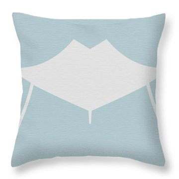 Modern Chair Throw Pillow
