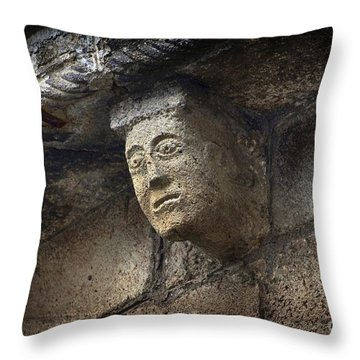 Modillon Throw Pillow by Bernard Jaubert