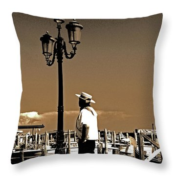 Molto Romantico Throw Pillow