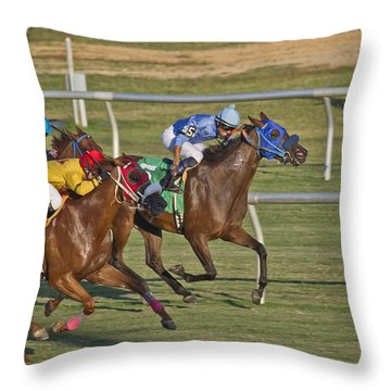 Moments Throw Pillow by Betsy Knapp