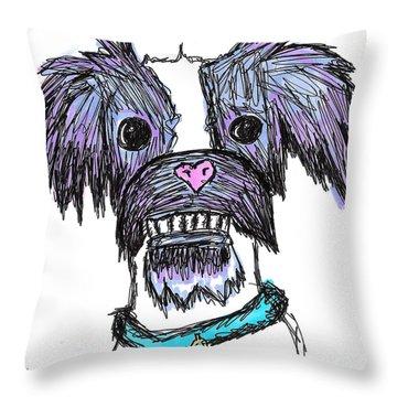 Momo  Throw Pillow by Jera Sky
