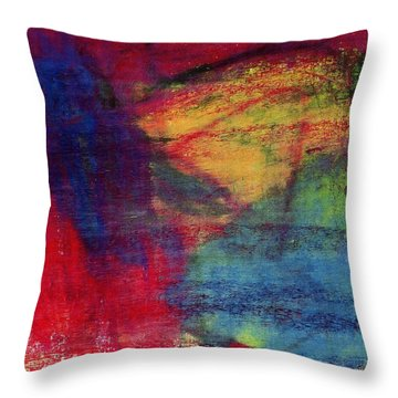 Moms Favorite Drawing Throw Pillow by Patrick Morgan