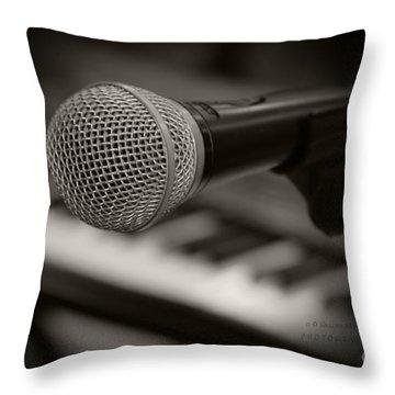 Monocromatico Throw Pillow by Sharon Mau