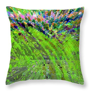 Monsanto Spring Throw Pillow