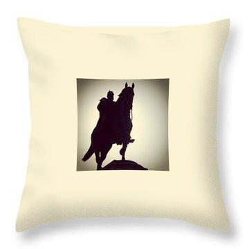 Horses Throw Pillows