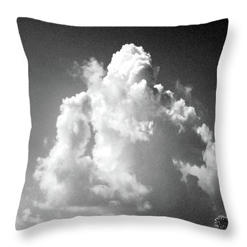 Throw Pillow featuring the photograph Monument by Lizi Beard-Ward