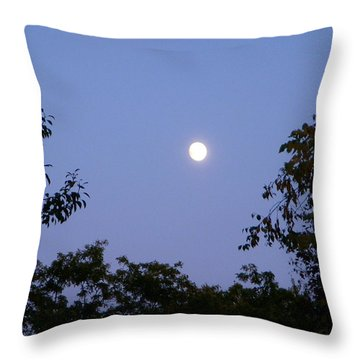 Moon Throw Pillow by Aimee L Maher Photography and Art Visit ALMGallerydotcom