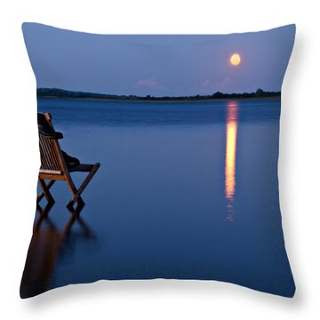 Throw Pillow featuring the photograph Moon Boots by Gert Lavsen