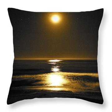 Moon Dust Throw Pillow