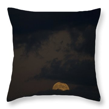 Moon Rising 03 Throw Pillow by Thomas Woolworth