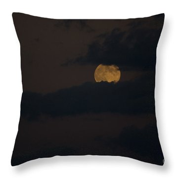 Moon Rising 04 Throw Pillow by Thomas Woolworth