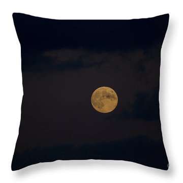 Moon Rising 05 Throw Pillow by Thomas Woolworth