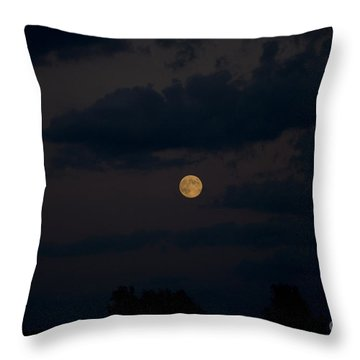 Moon Rising 06 Throw Pillow by Thomas Woolworth