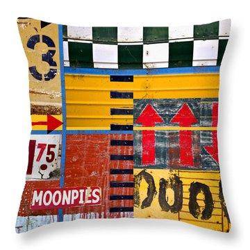 Moonpies Number 2 Throw Pillow