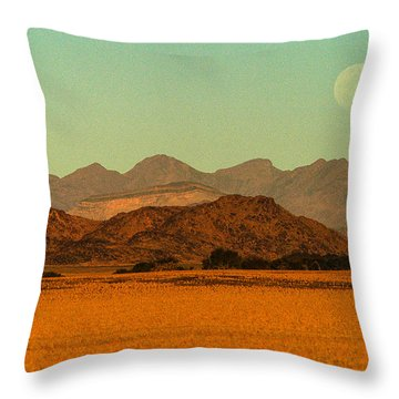 Moonrise Moment Throw Pillow
