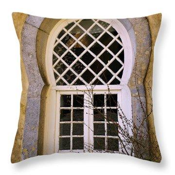 Moorish Window Throw Pillow