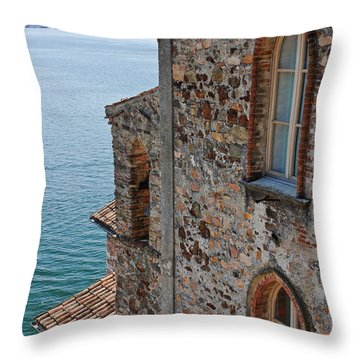 Morcote Throw Pillow by Joana Kruse