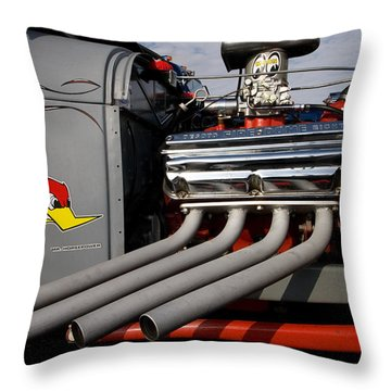 Throw Pillow featuring the photograph More Power by Karen Lee Ensley