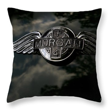Morgan Throw Pillow by Dennis Hedberg