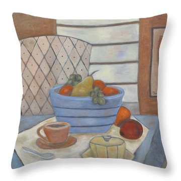 Morning Coffee Throw Pillow