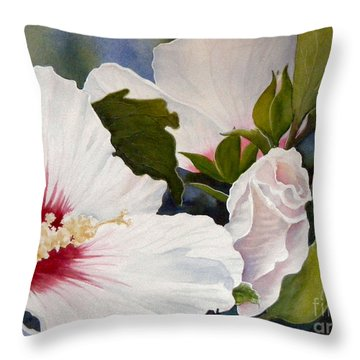 Morning Gift Sold Throw Pillow