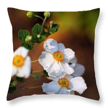 Morning Glow  Throw Pillow by Katherine White