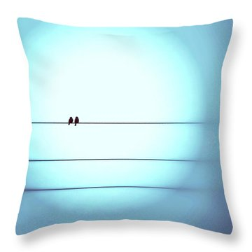 Morning Hopes  Throw Pillow