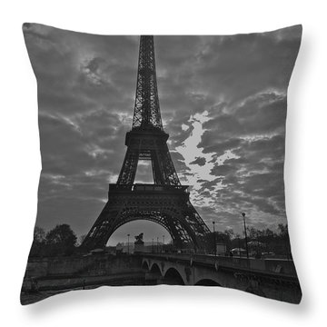 Throw Pillow featuring the photograph Morning Light  by Eric Tressler