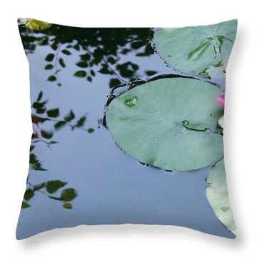 Morning Lilly Throw Pillow