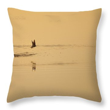 Morning Ritual Throw Pillow by Melany Sarafis