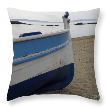 Morning Seascape Throw Pillow by Lainie Wrightson