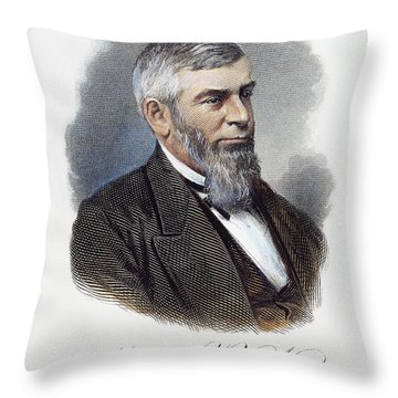 Morrison Remick Waite Throw Pillow by Granger